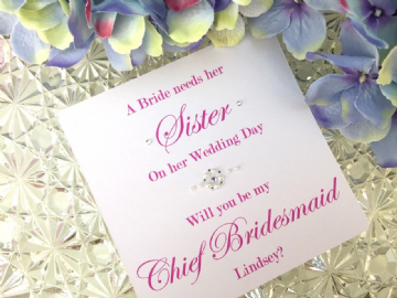 Will You Be My Chief Bridesmaid - card